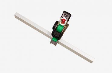 LIFTKAR HD Ratschengurt mit Aufrollmechanik komplett 2,5m