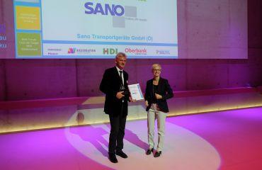 Auszeichnung BBA Best Business Award durch Europaregion Donau-Moldau