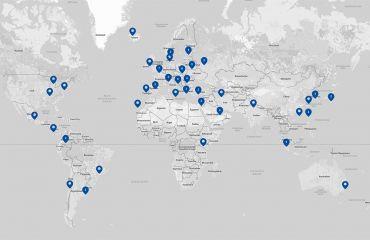 Aufbau internationales Händlernetz