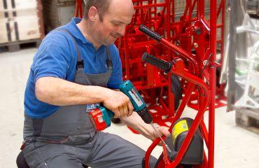Umgründung in Sano Transportgeraete Ing. Jochum Bierma KG,Übersiedlung der Produktion nach Lichtenberg – Am Holzpoldlgut 22, Österreich