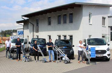 LIFTKAR Treppensteiger für Lastentransport | für Mobilität über Treppen und Wege