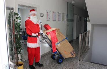 Der Weihnachtsmann kommt