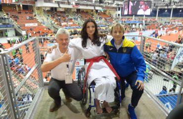 SANO bei der Karate WM