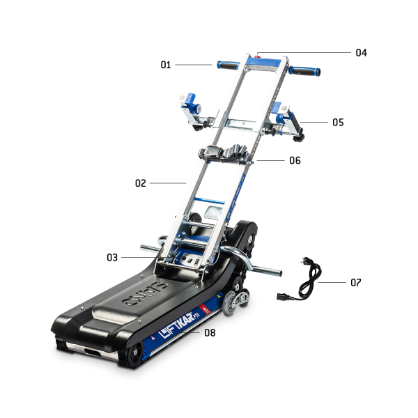 LIFTKAR PTR - Elektrische Treppenraupe