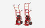 Wählen Sie beim LIFTKAR MTK zwischen zwei Ausführungen - der Schwertransporter bis 310 kg oder der schnellere Bruder für Lasten von bis zu 190 kg