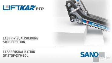 LIFTKAR PTR Treppenraupe - Laser Visualisierung