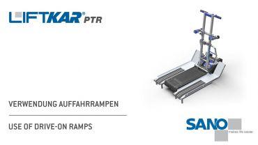 LIFTKAR PTR Treppenraupe - Verwendung Auffahrrampen